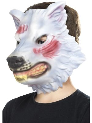 Childrens Fancy Dress Accessories | Animal Masks | Children's Wolf Mask